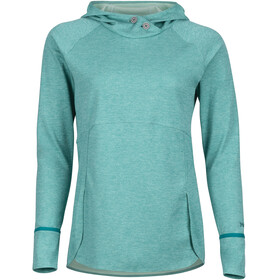 Marmot Sunrift Midlayer Dames turquoise